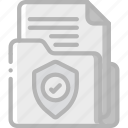 data, document, security, shield, secure