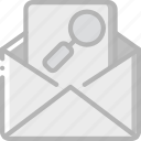 data, mail, search, secure, security icon