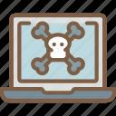 danger, data, laptop, security, secure
