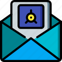 data, mail, safe, secure, security icon