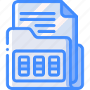 combination, data, document, lock, secure, security icon
