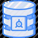 data, database, safe, secure, security icon