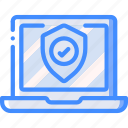 data, laptop, security, shield, secure