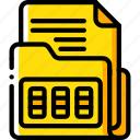 combination, data, document, lock, security, secure icon