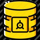 data, database, safe, security, secure icon