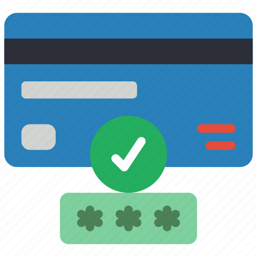 card, data, password, secure, security icon