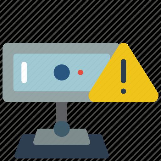 Data, security, warning, webcam, secure icon - Download on Iconfinder