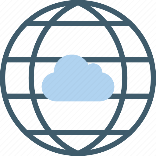 cloud, data, internet, secure, security icon