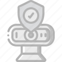 data, security, shield, webcam, secure