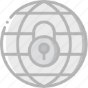 data, internet, lock, secure, security icon