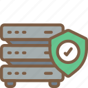 data, network, secure, security, shield icon