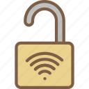 lock, security, data, shield, secure icon