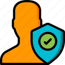 data, security, shield, user, secure