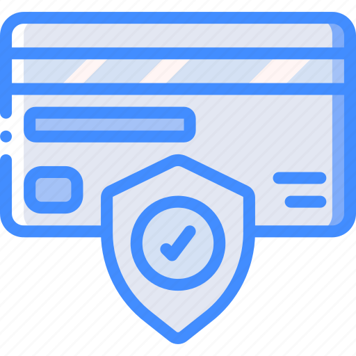 card, data, secure, security, shield icon