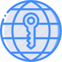 data, internet, key, secure, security icon