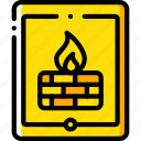 data, firewall, secure, security, tablet icon