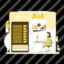 datacenter, database, management, maintenance, administration
