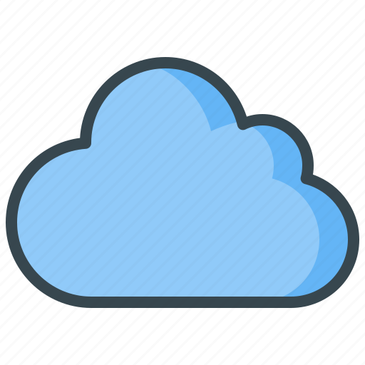 cloud, data, file, server, storage, weather icon