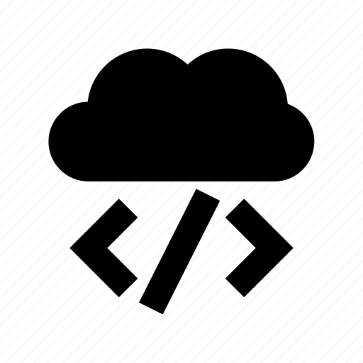 cloud computing, cloud div, cloud storage, html, programming language icon