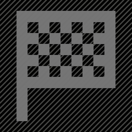 checker flag, flag icon