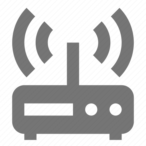 modem, wifi icon