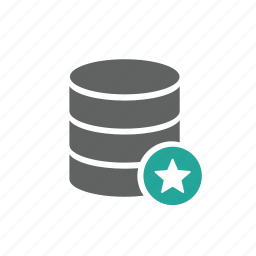 database, favorite, guardar, like, love, save, star icon