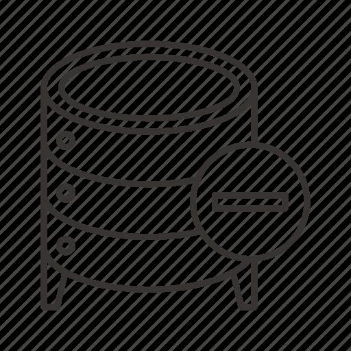 cloud, data, database, file, server, stop, storage icon