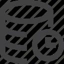 data, database, history, server, set icon