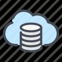 backup, cloud, database, network, server, service, storage