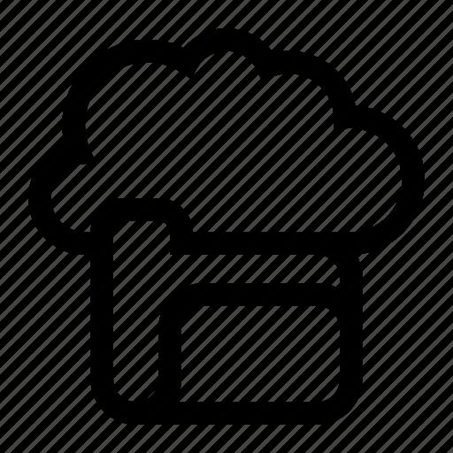 cloud, directory, folder, server icon