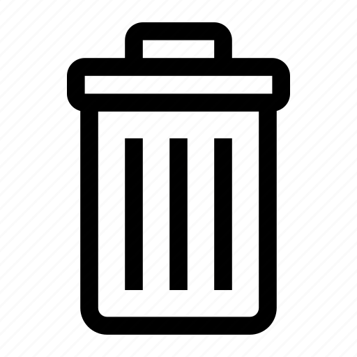 Bin, delete, garbage, recycle, trash icon - Download on Iconfinder
