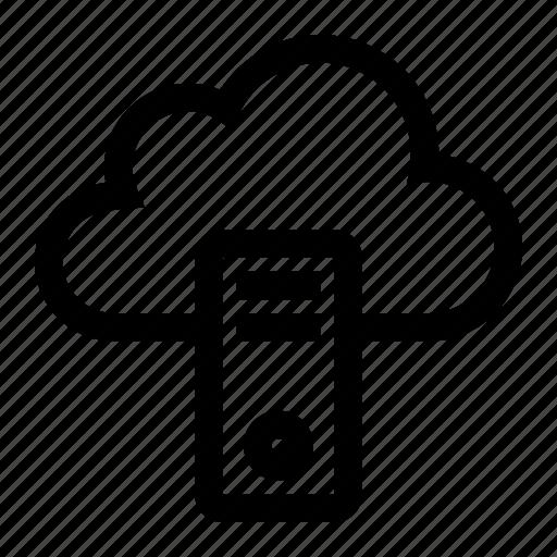 cloud, computer, pc, storage icon