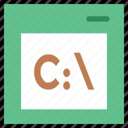 c drive, c extension, c language, c language file, drive, objective c icon
