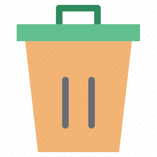 bin, delete, dustbin, garbage, remove, trash, trash can icon