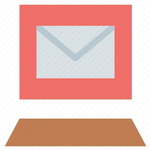 communication, email, envelope on screen, letter, mail, message icon
