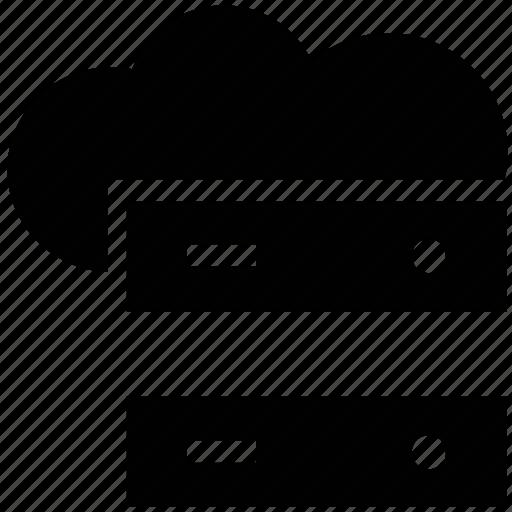 cloud data, cloud data storage, cloud server, cloud storage, database, network, safe, server, storage icon