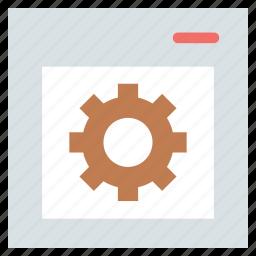 connection, development, optimization, optimized, seo, setting, web gear, web optimization icon