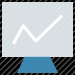 display, flat panel display, imac, lcd, led, monitor, screen, tv icon