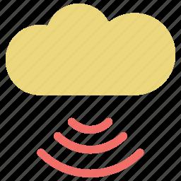 cloud, cloud computing, data storage, icloud, network cloud, storage, weather icon