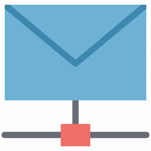 email data share, email share, network, networking, share communication icon