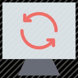 refresh, reload, reprocess, web refresh, web reload, web reprocess icon