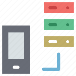 data storage ios, ipad data storage, iphone, iphone hosting, iphone server, iphone with server, server with iphone icon
