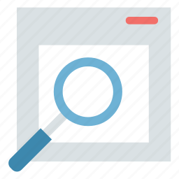 magnifying, magnifying glass, search file, search glass, seo, web search, web searching icon