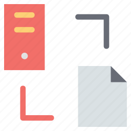 connectivity file, extension to desktop, extension to server, file to pc icon