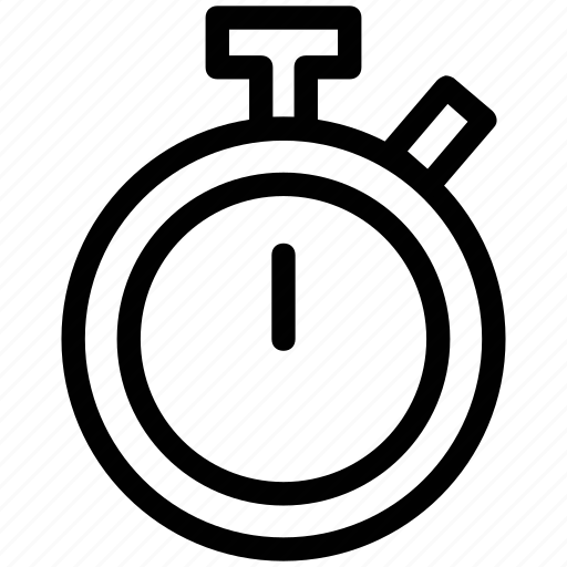 Clock, logistics, stopclock, stopwatch, time, timer icon - Download on Iconfinder
