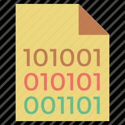 binary, binary code, code, coding, computer language, dos, dos coding, language icon