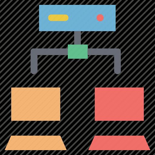 data, data storage connectivity, database, hosting, server, server connect with pc, server connectivity icon