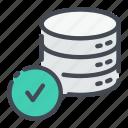 base, check, data, database, done, storage, tick