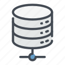 base, connect, connection, data, database, lan, storage icon
