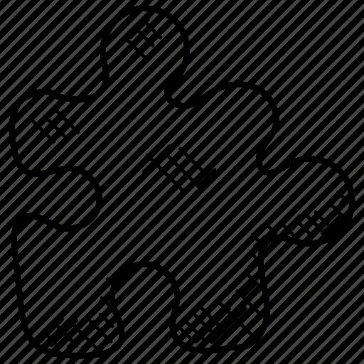 jigsaw puzzle, problem solving, puzzle, puzzle piece, tiling puzzle icon